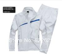 Men Zipper Cotton,Polyester Wholesale-spring 2015 brand tracksuit sport suit men and women sweat suit size M -4XL free shipping