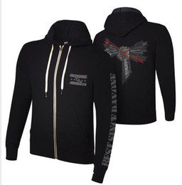 "Wholesale-CMPunk ""Best Since Day One"" Lightweight Full Zip Hoodie Sweatshirt"