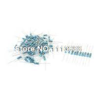 axial lead resistors - Axial Lead Metal Film Resistors K Ohm W Assortment Set