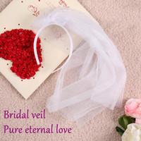 . bachelorette party accessories - Wedding decoration bride hair accessories bridal veil fit bride bachelorette women dress party decorations in wedding hen party