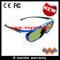 acer ups - Free Ship by DHL Fedex UPS HD Hz rechargeable dlp D Glasses for Benq W1070 for Acer H6510BD