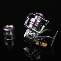 Wholesale new Ecooda pure metal fishing reel ERS1500 ERS2000 ERS2500 ERS3000 with spare spool