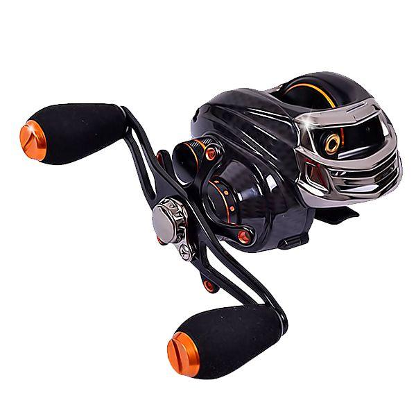 Wholesale-Trulinoya TS1200 Baitcasting Reel 14 Ball Bearings Carp Fishing Wheel Gear Left Right Hand Spinning Bait Casting Fishing Reel