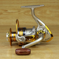 Wholesale New S Fishing Reels YOMORES aluminum spool spinning reel BB EF1000 series fishing reels saltwater fish ratio