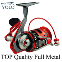 Fly Fishing Spinning Front Drag Spinning Reel Wholesale-Famous brand CATKING TOP quality full metal materials salt water ACE40 spinning reel 11+1 BB ultra-light lure fishing reel