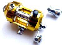 FISHING BAITCASTING REEL alloy fishing wheel - Mini Pocket high hard alloy outdoor Fishing reel drum wheel speed ratio Golden Dia cm