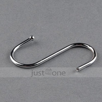 laundry products - x S Hooks Hanger Alloly Home Laundry Hanging Kitchen mm Robe Hook Clothes Hook Bathroom Hardware Product Accessory