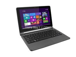 Wholesale Inch Convertible Ultrabook Notebook PC Intel CPU Windows PRO GB RAM GB vs surface pro Azerty Russian Spanish Keyboard