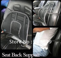 100% Wool Cotton U-Shape Wholesale-Free shipping Wholesale New arrival Car Seat Chair Massage Back Lumbar Support Mesh Ventilate Cushion Pad Massage pad 10 lot