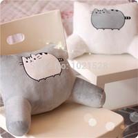 Wholesale 50 cm I am Pusheen the Cat stuffed plush pusheen waist cushion pusheen cat back cushion sofa cushion back pillow chair