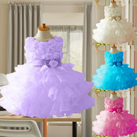 TuTu tutu dress - Summer baby girl tutu dress princess toddler girl clothing Newborn dresses for girls Sleeveless flower girl Chiffon clothes
