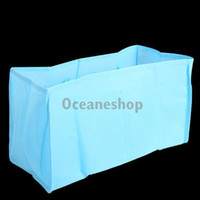 Wholesale Non woven Fabrics Baby Diaper Bag Mom Diaper Milk Powder Storage Bag Diaper Organizer Blue BHU2