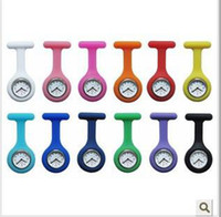Wholesale 80pcs Brand New Silicone nurse watch Candy color watch of colors
