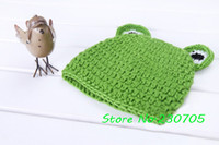 autumn leaf photos - Cute Baby Infant Knit Crocheted Frog Hat Lotus Leaf Mat Costume Photo Photography Prop Newborn Months