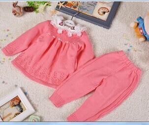 Wholesale Newborn Baby Sweater Set 100 Cotton Jersey Sweaters