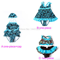 Wholesale Baby Swimsuit Biquini Bikini Infantil Swim Diaper Swimming Costume Tankini Swimwear One Pieces Bathing Suit For Girls