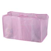 Viaje por mayor-Portable bebé al aire libre bolsas de pañales pañales organizador pañales bebé leche en polvo alimentador materias almacenamiento bolsa BHU2