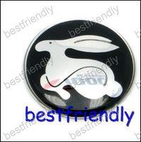 Wholesale 300pcs steering wheel center car logo badges Emblem Badge Sticker vw Wolfsburg mm bestfriendly