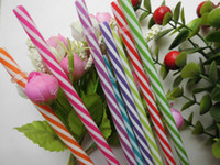 >5 reusable straws - cm Reusable Plastic Drinking Straw Various colors Pieces per bag For Party Wedding Mason Jar