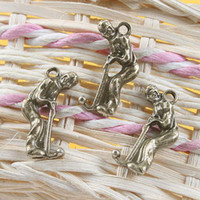 Wholesale 200pcs mini Golf Playing Dollhouse miniature toy jewelry Charm Finding Bead x m
