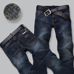Wholesale Spring New Designer Jeans Men Slim Pencil Pants Korea Style Skinny True Jeans