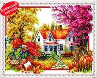 autumn scenery - retail DIY diamond painting diamond cross stitch kit Inlaid decorative painting Autumn scenery DM1203057