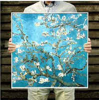 almond kits - DIY Diamond Painting Van Gogh s Almond Blossom Rhinestone Kits Diamond Embroidery Set