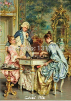 adult chess - New Authentic French Royal Brodeirer Diy diamond painting Cross Stitch Arturo richie Oil Painting Chess game square drill