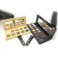Wholesale Eyeshadow Mini Eye Primer and Colors Lorac pro Unzipped Palette Cosmetic Eye Shadow Brush Makeup Set
