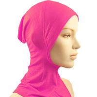 arab men wear - Fashion Islamic Turban Head Wear Band Neck Chest Cover Bonnet Muslim Short Hijab Shawls Arab Women Scarf