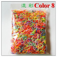 hair rubber band - Colors Silicone Rubber Hair Band Rope Ponytail Elastic HeadBands Ties Plaits Head Accessories For Baby Girls