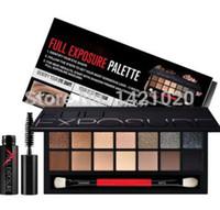 Wholesale Color smash box full exposure palette eyeshadow kit Eyeshadow brush and brand mascara