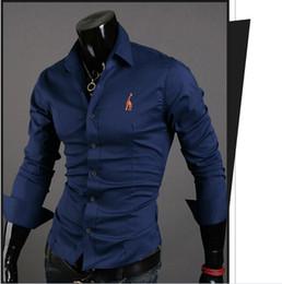 Wholesale camisas casual shirt shirts fashion dress men shirt camisa masculina casual men brand tommy cotton slim fit clothing social