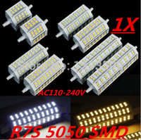 Wholesale R7S LED W mm W mm W mm J118 J78 J189 LED R7S dimmable corn bulb Halogen Flood