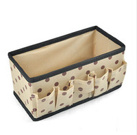 HLX1055KCF Floral 10 cm Wholesale-20*10*10cm Professional Non-Woven Cosmetic Makeup Tool Bag Cases   Cosmetic Storage Pouch Case   Travel Wash Toiletry Bag