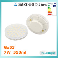 220V gx53 - GX53 LED Cabinet Light Epistar SMD W V V AC GX53 LED Under Counter Puck Light