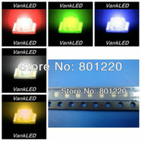 Wholesale Valuesx1000pcs color New Ultra Bright SMD LED Red Green Blue Yellow White Kit