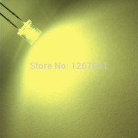 Wholesale mm Flat top Warm white Wide Angle Light lamp LED ultra bright bulbs emitting diode F5mm
