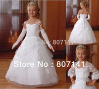 Wholesale Free shippping flower girl dresses custom made girl dress cheap flowergirl dress plus size hot sale