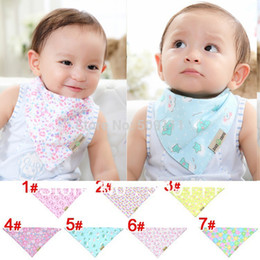 Wholesale-Baby bib Dribble bib Drool Bib Bandana bib - Stylish absorbent accessory Gift for baby and toddler 20pcs KK014