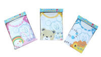 baby bibs apparel - pc Baby bib apparel with mouse or bear pattern baby girls and boys Waterproof feeding smock vesture
