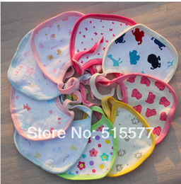 Wholesale Single pattern The baby cotton saliva towel Children bib baby bib baby cotton chinese style chest covering