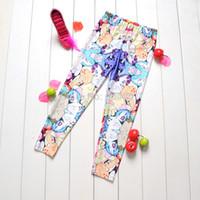 Wholesale Drop Ship My Little Pony Cartoon Digital Printing Girl Pants School Child Leggings Sports Pant Fashion