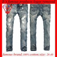 overalls for men - Hot NEW Top Cotton Plus Size Man Denim Overalls Men s Ripped Jeans Pant Men Male Free For Mens Jean Pants Famous