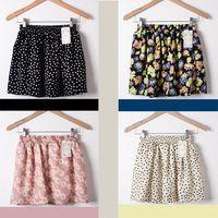 american apparel sheer - New Print Summer American Apparel Pleated High Waist Women Tutu Saia Chiffon Skirts Sheer Mini Skirt Female Colors