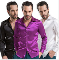 Cheap Casual Shirts casual shirts Best Silk,Polyester,Modal Turn-down collar shirt shirts