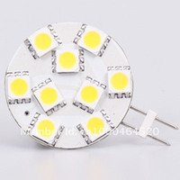 automobile shipment - Free Shipment Dimmable G4 Base LED Lamp VDC w SMD Energy Saving Boats Ships Automobiles Camper Bulb