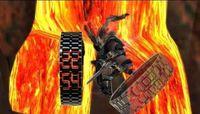 led lava watch - LED Watch SHARP Lava Style Iron Samurai Metal fashion ring table Newest luxury watch