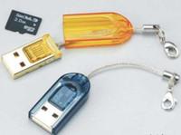 Wholesale USB TF micro SD mini minisd cf microsd memory card reader