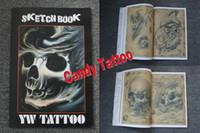 Cheap SKETCH TATTOO BOOK YW TATTOO A3 tattoo flash Best tattoo Magazine
